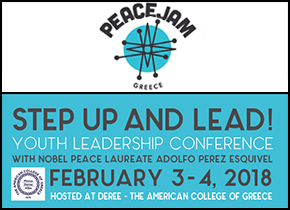STEP UP AND LEAD!YOUTH LEADERSHIP CONFERENCE 3-4 FEBRUARY 2018 DEREE
